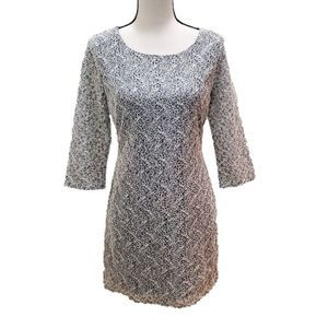 NWOT! Everly Grey Lace Dress, Size S